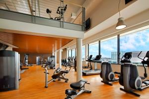 The fitness center and/or fitness facilities at Sheraton Grand Seattle