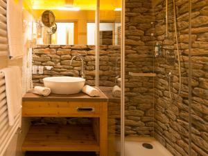 Ein Badezimmer in der Unterkunft Hotel Walisgaden