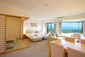 A seating area at One Niseko Resort Towers