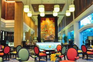 Een restaurant of ander eetgelegenheid bij Century Park Hotel