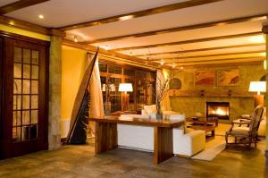 El vestíbulo o zona de recepción de Hotel Rey Don Felipe