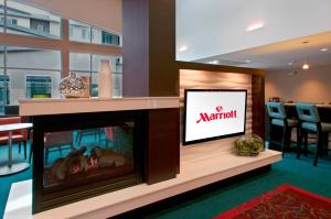 A television and/or entertainment center at Residence Inn Denver Cherry Creek