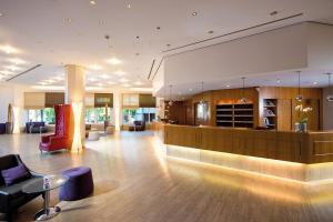 Lobby/Rezeption in der Unterkunft Leonardo Hotel Weimar