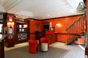 Hall o reception di Hotel Food & Drink