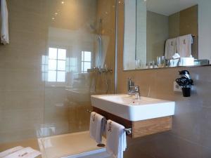 Ein Badezimmer in der Unterkunft Hotel Saline 3-Sterne Superior