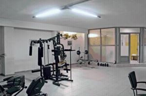 Фитнес-центр и/или тренажеры в Elpida City Hotel