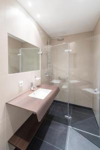 Ein Badezimmer in der Unterkunft Boardinghaus Weinberg Campus