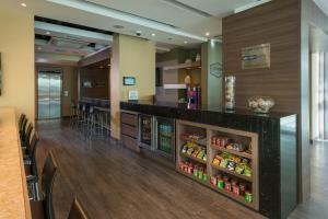 The lobby or reception area at Hampton by Hilton Barranquilla