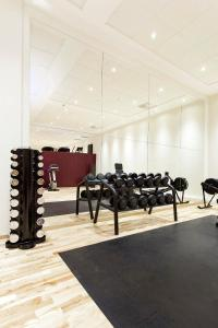The fitness center and/or fitness facilities at Elite Plaza Hotel Malmö