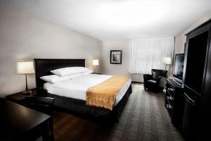 Cama o camas de una habitación en Skyline Hotel & Waterpark