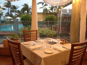 A restaurant or other place to eat at Dolphin Heads Resort