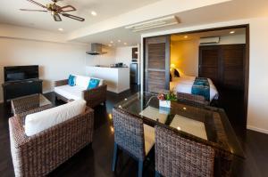カフー リゾート フチャク コンド・ホテルにあるシーティングエリア