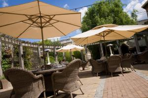 A patio or other outdoor area at Hotel du Vin Cheltenham