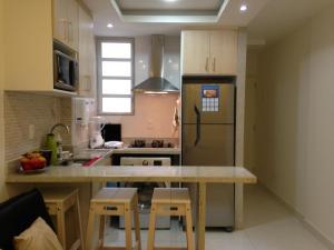 A cozinha ou cozinha compacta de Zanzicopa Copacabana