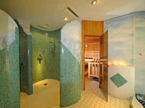 Ein Badezimmer in der Unterkunft Biohof Naturzeit Faaker See