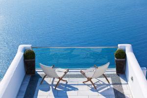 Balcon ou terrasse dans l'établissement Belvedere