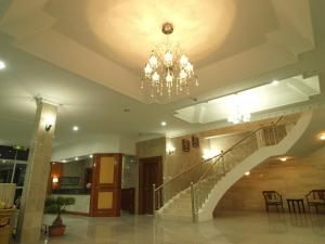 The lobby or reception area at Jeruton Hotel