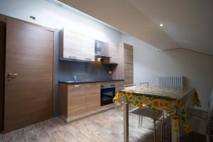 A kitchen or kitchenette at Residence Tabor