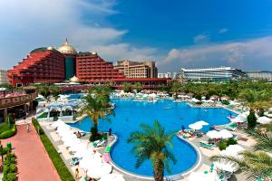 A view of the pool at Delphin Palace Hotel or nearby