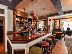 The lounge or bar area at The Gillygate Pub With Rooms