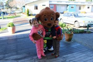 Children staying at Kennedy Park Resort Napier