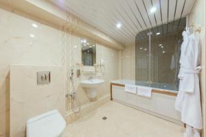 Ванная комната в Гостиница Орбита