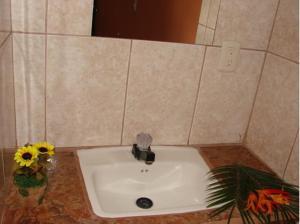 A bathroom at Hotel el Tropico