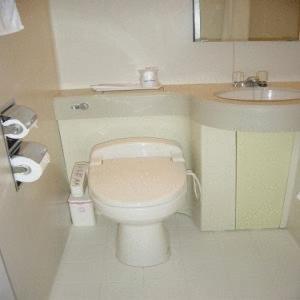A bathroom at Hotel Kiyoshi Nagoya No.2