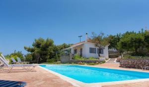 The swimming pool at or near Akritas