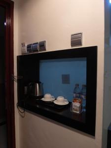 مطبخ أو مطبخ صغير في فندق باهاغيا لانكاوي