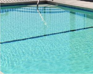 The swimming pool at or near High Desert Motel Joshua Tree National Park