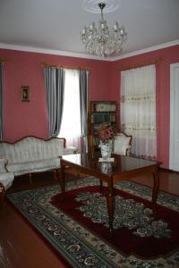 A seating area at Guesthouse Gegi