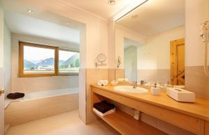 Ein Badezimmer in der Unterkunft Hotel Waidmannsheil