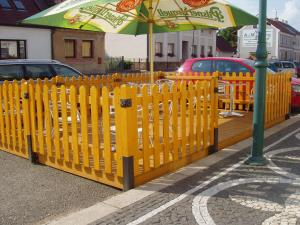 Children's play area at Hotel u Kapra