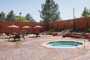 The swimming pool at or near DoubleTree by Hilton Denver