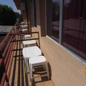 Un balcon sau o terasă la Vila Sunny