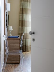 A bathroom at Hotel Porta Nuova