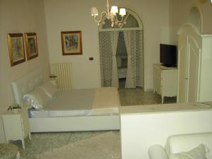 A bed or beds in a room at Villa Nicolaus