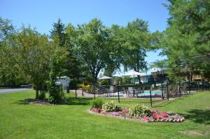 A garden outside Country Squire Resort