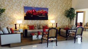 Zona de estar de Carnaval Hotel Casino