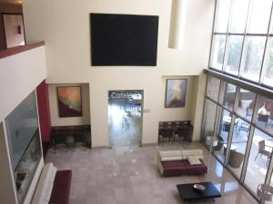 A television and/or entertainment center at BS Capitulaciones