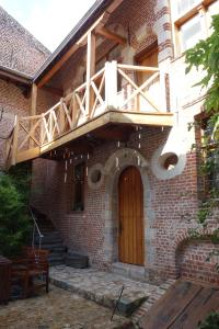 A porch or other outdoor area at Apartment Relais Princesse