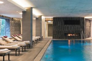 The swimming pool at or near ElisabethHotel Premium Private Retreat- Adults only
