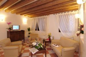 Area soggiorno di Residence Corte Grimani