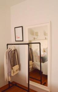 A bathroom at Hostal Carlos V