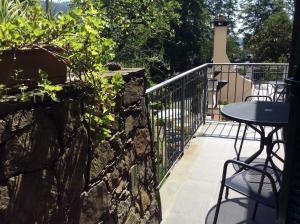 A balcony or terrace at Hotel Il Saraceno