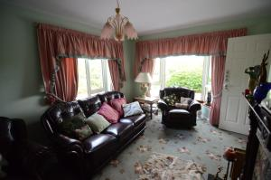 A seating area at Haywoods B&B