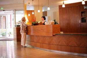 The lobby or reception area at Residenz am Dom Boardinghouse Apartments