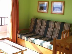 A seating area at Apartamentos Lago Azul