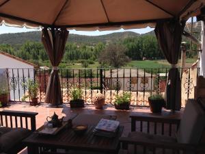 Un restaurante o sitio para comer en Encanto de Aragón